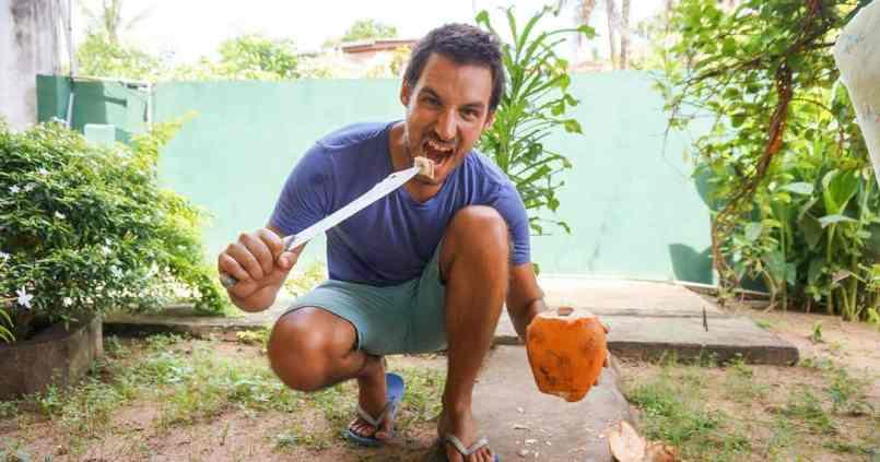 Prêt pour Koh-Lanta! On perd pas les bonnes habitudes... 1