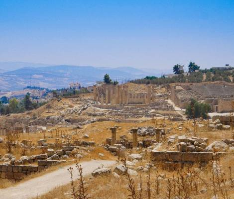 Ruines romaines de Jerash en Jordanie. Magnifiques ! 5
