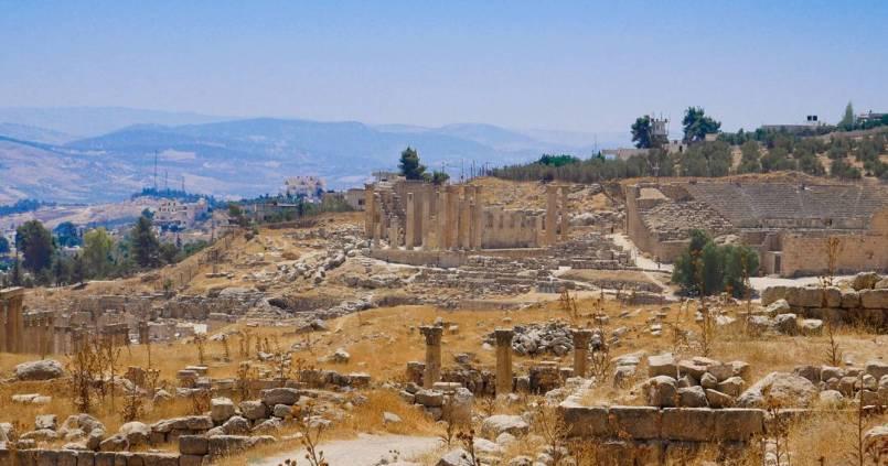 Ruines romaines de Jerash en Jordanie. Magnifiques ! 1