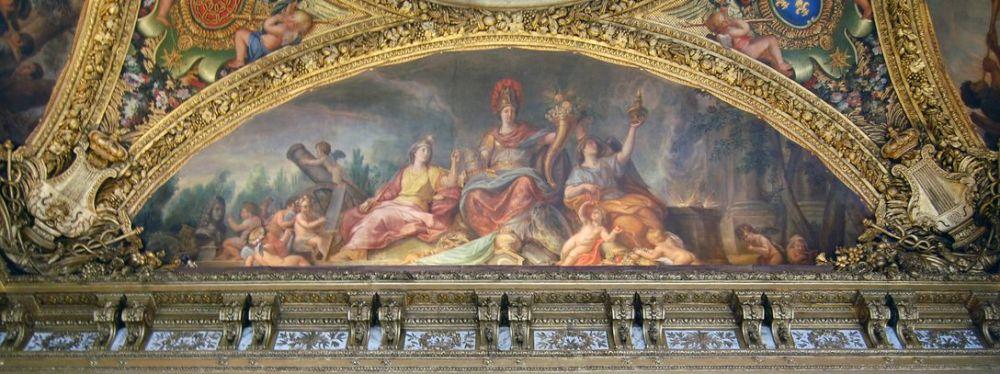 L'Europe en paix - Salon de la Paix - Versailles