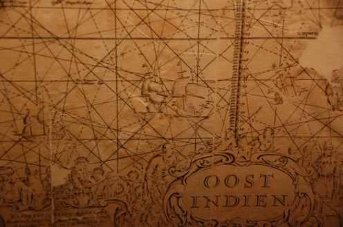 Planche extraite de l'atlas des cartes de géographie et de marine - Van Keulen Gerard, éditeur, 1720 - Museum d'histoire de Nantes
