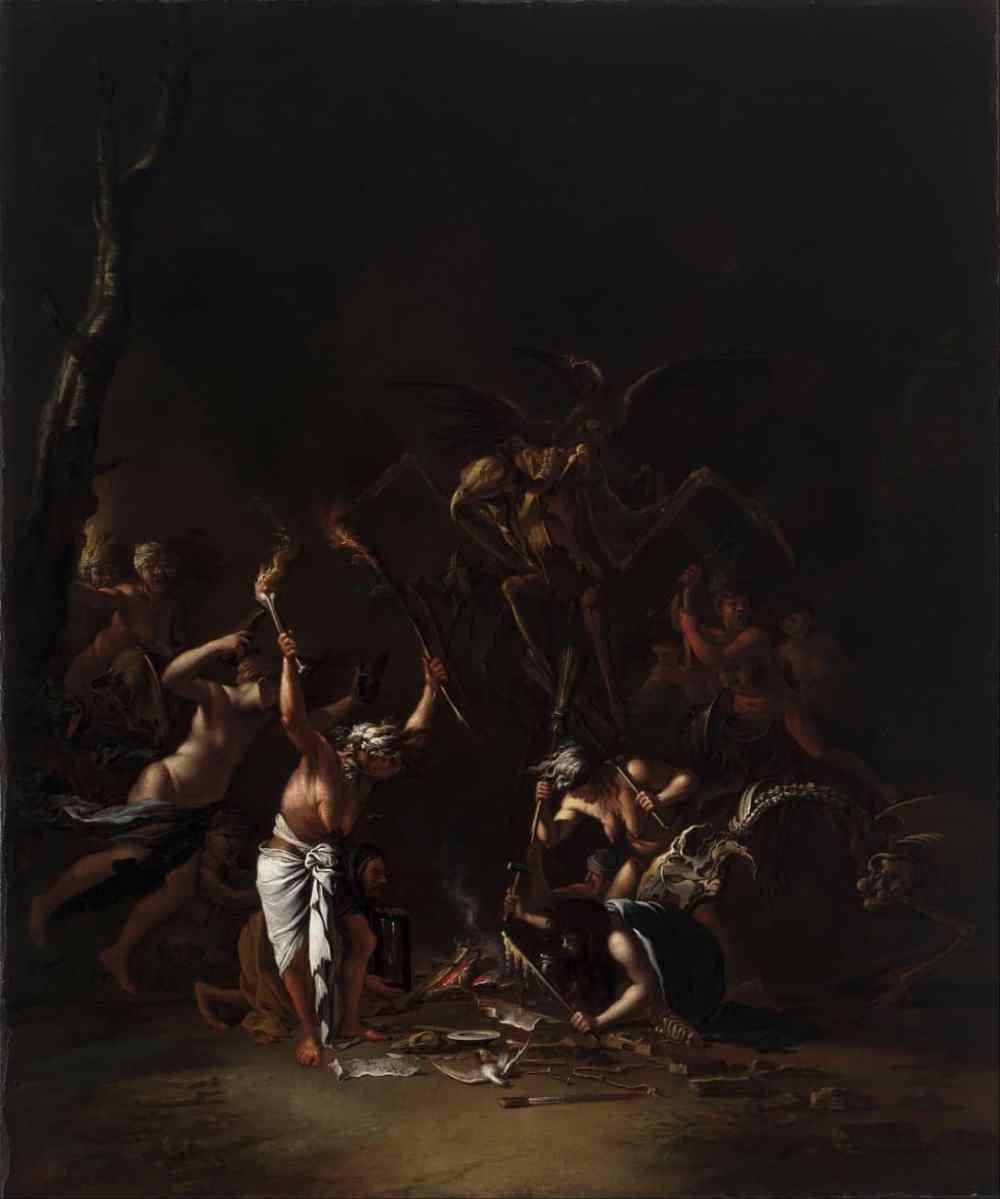 Sabbath de sorcières, 1535-1554 Houston