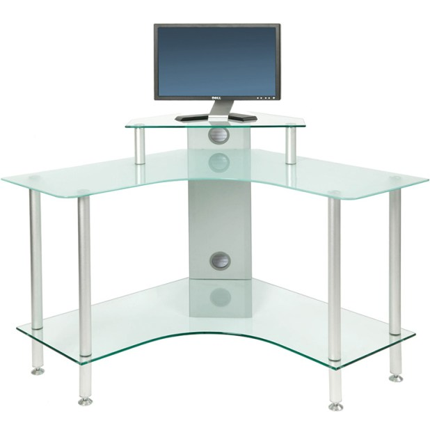 Jual-PC004-SCF-Office-PC-Computer-Desk-Frosted-Glass-PC-004-SCF-PC-004-SCF- Why Glass Computer Desks Are The Trend of This Year?