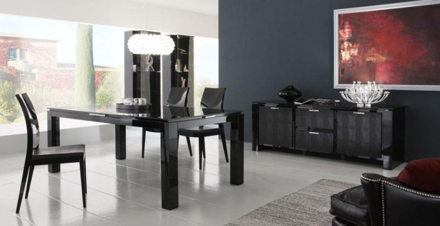 Rossetto-Diamond-Black-Dining-Chair-2 10 Best Diamond Furniture Designs You'll See