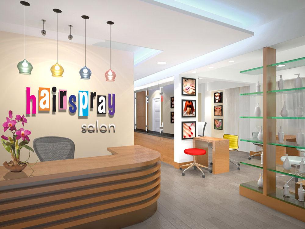 Salon Interior Design Ideas Moreover Hair Salon Interior Design