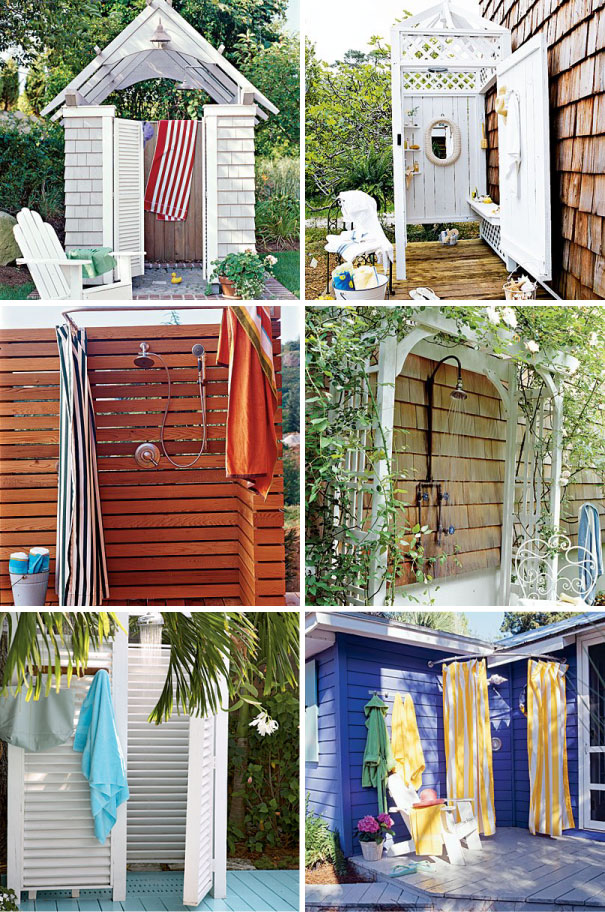 Outdoor Showers Can Make You Feel Cool In The Hot Summer