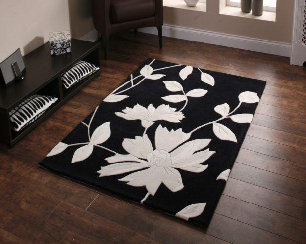 2085_black 25 Elegant Black And White Dining Room Designs
