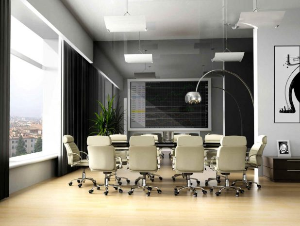Modern-office-décor-7 The Most Inspiring Office Decoration Designs