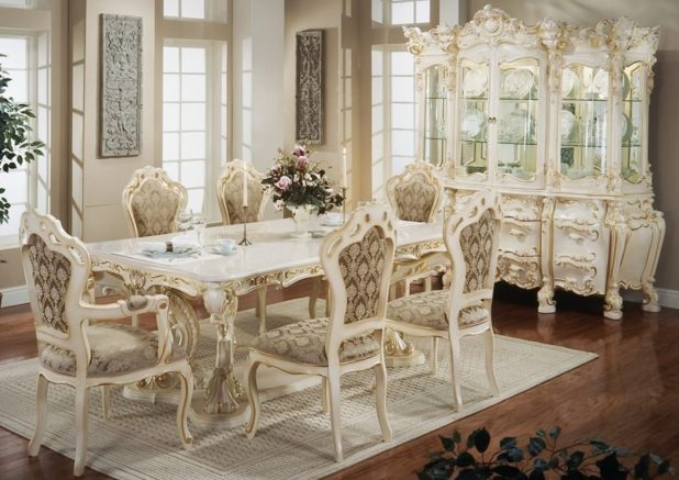 dining-room Stunning And Contemporary Victorian Decorating Ideas