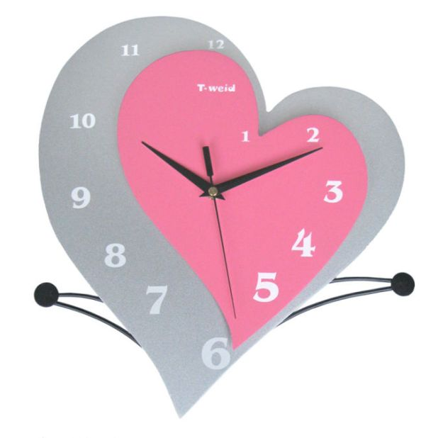Living-room-wall-clock-personalized-wooden-arch-hammock-pocket-watch-fashion-clock-mute-clock-brief 15 Amazing Wall Clocks Will Be Pieces Of Art In Your Home