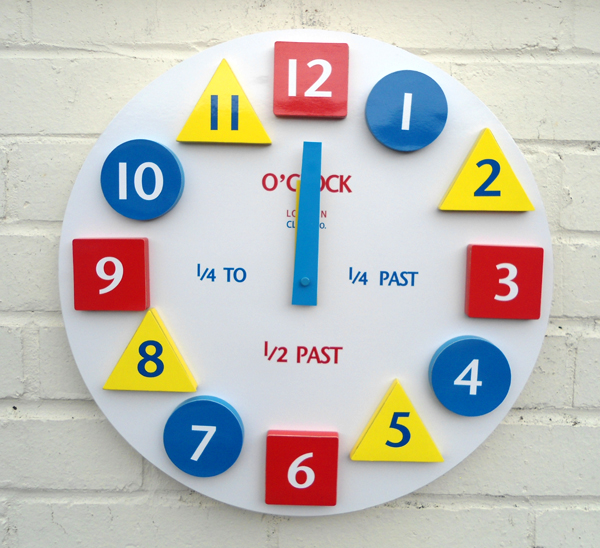 kids-clock 15 Amazing Wall Clocks Will Be Pieces Of Art In Your Home