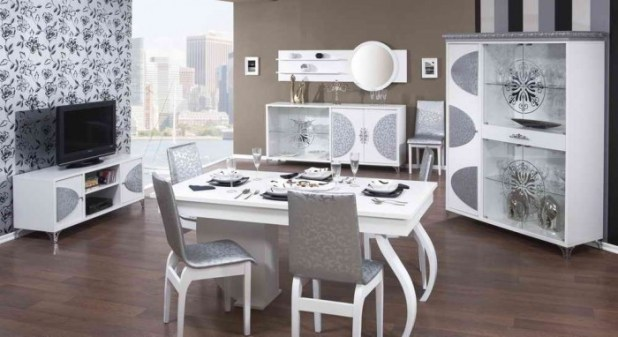 white. 45 Most Stylish and Contemporary Dining rooms