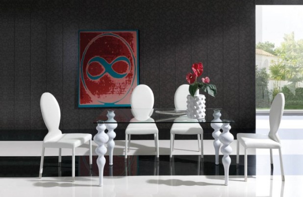 white 45 Most Stylish and Contemporary Dining rooms