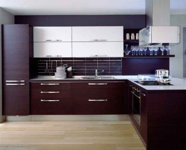 Modern-Wooden-Cabinet-Ideas-Kitchen 45 Elegant Cabinets For Remodeling Your Kitchen