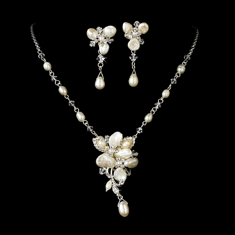 An Elegant Collection Of Wedding Jewelry Sets
