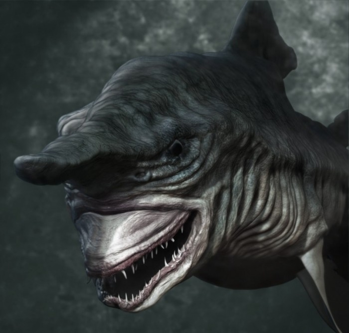 Have You Ever Seen Such A Scary Amp Goblin Shark With Two Faces