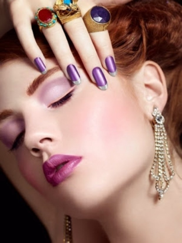 Elegant-And-Complete-Party-Makeup-At-New-Year-From-2014-1 What Are the Latest Beauty Trends for 2014?