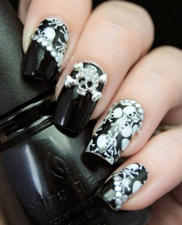 Nail-Art-Designs-ideas-new-techniques-2014-17 What Are the Latest Beauty Trends for 2014?