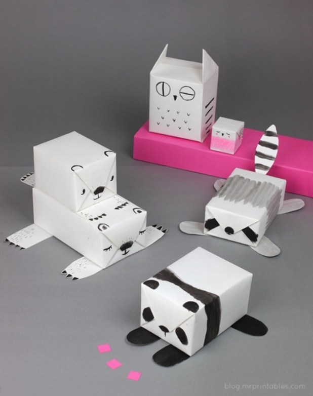 diy-animal-gift-wrapping-ideas 40 Creative & Unusual Gift Wrapping Ideas