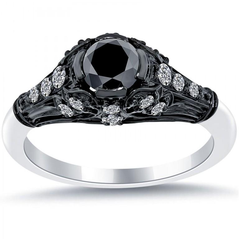 35 Fabulous Antique Palladium Engagement Rings
