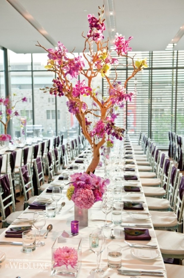purple-tree-wedding-centerpieces-8hlqqzas 25 Breathtaking Wedding Centerpieces in 2016