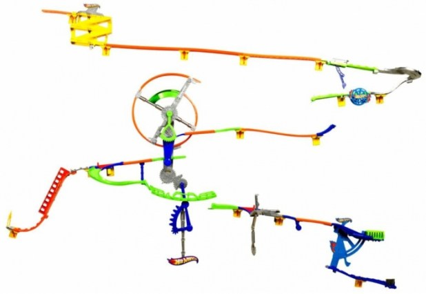 Hot-Wheels-Wall-Tracks-Auto-Motion-Speedway 2014 Hot Wheels Cars Commercial