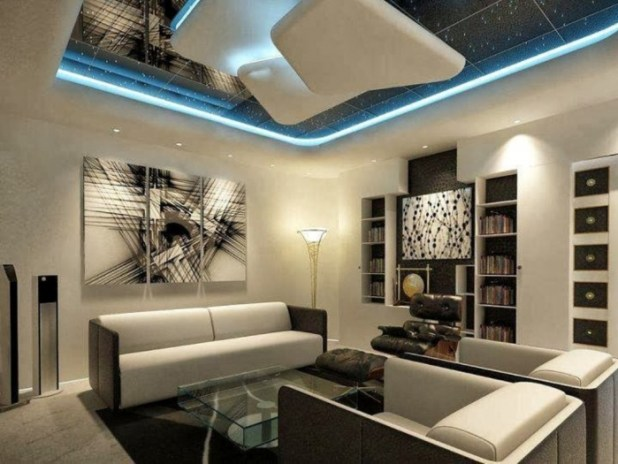 35-Dazzling-Catchy-Ceiling-Design-Ideas-2015-28 46 Dazzling & Catchy Ceiling Design Ideas 2015