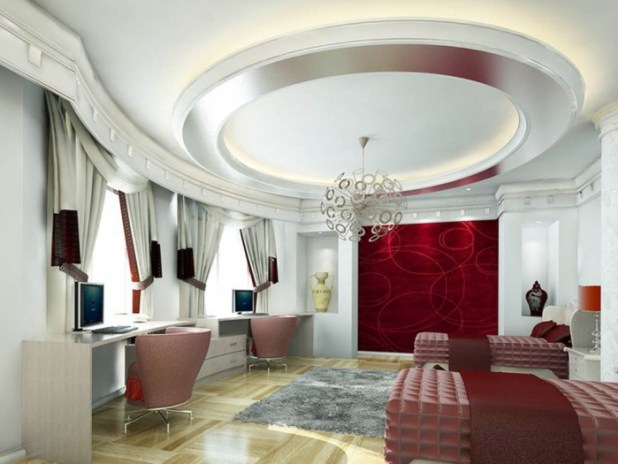 35-Dazzling-Catchy-Ceiling-Design-Ideas-2015-4 46 Dazzling & Catchy Ceiling Design Ideas 2015
