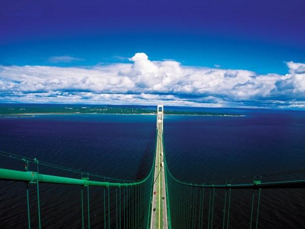 mackinac-bridge3 Top 10 Biggest Bridges in USA