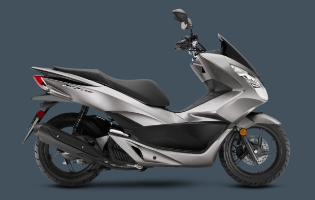 2016_PCX-SteelGray Awesome Motorcycle Models Released by Honda for 2016