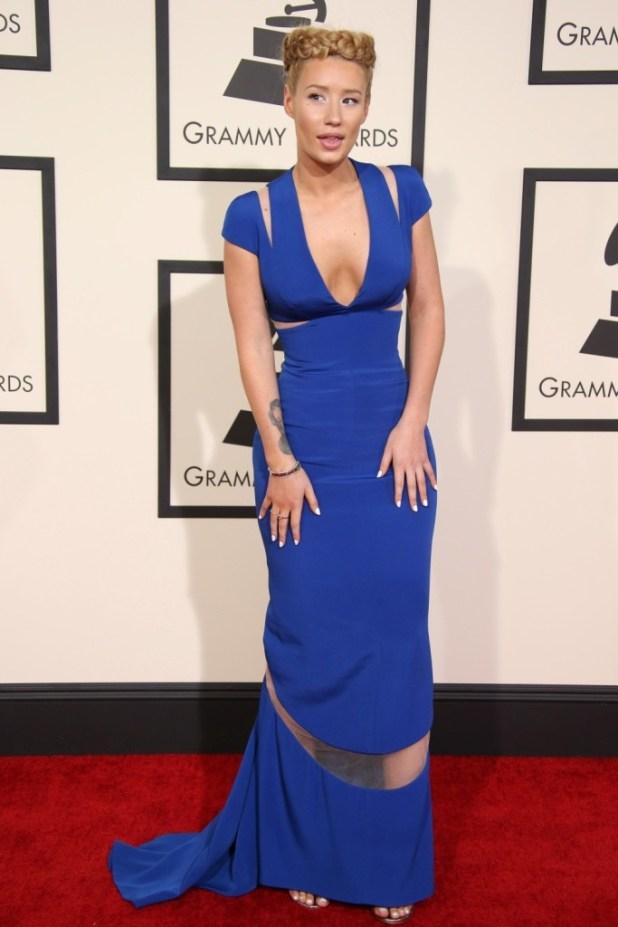 Iggy-Azalea-milkmaid-braid The Worst Celebrity Hairstyles in 2015