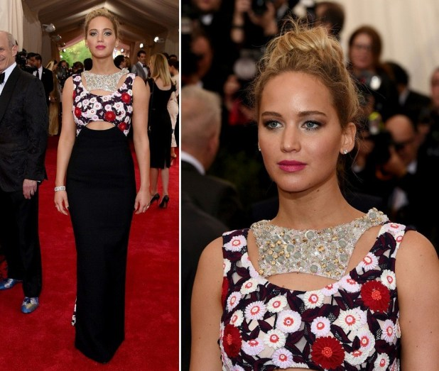 Jennifer-Lawrence-in-Met-Gala-2015 The Worst Celebrity Hairstyles in 2015