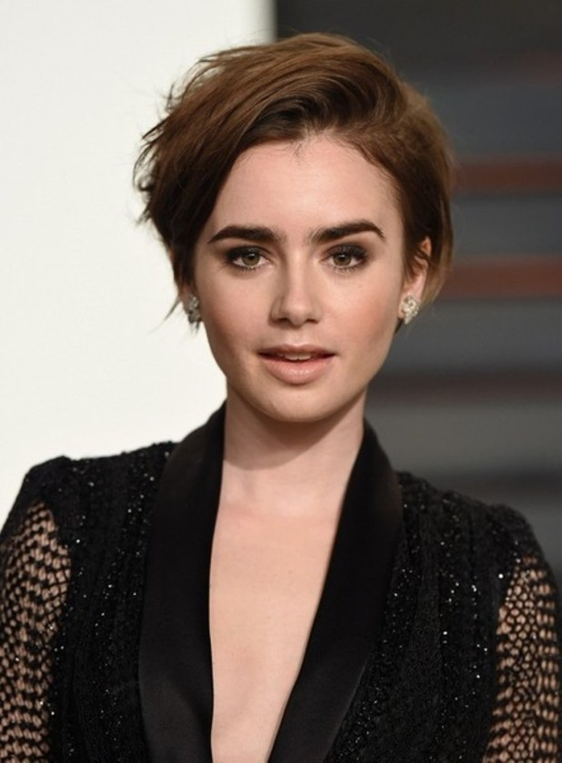 Lily-Collins-with-her-new-pixie-haircut The Worst Celebrity Hairstyles in 2015