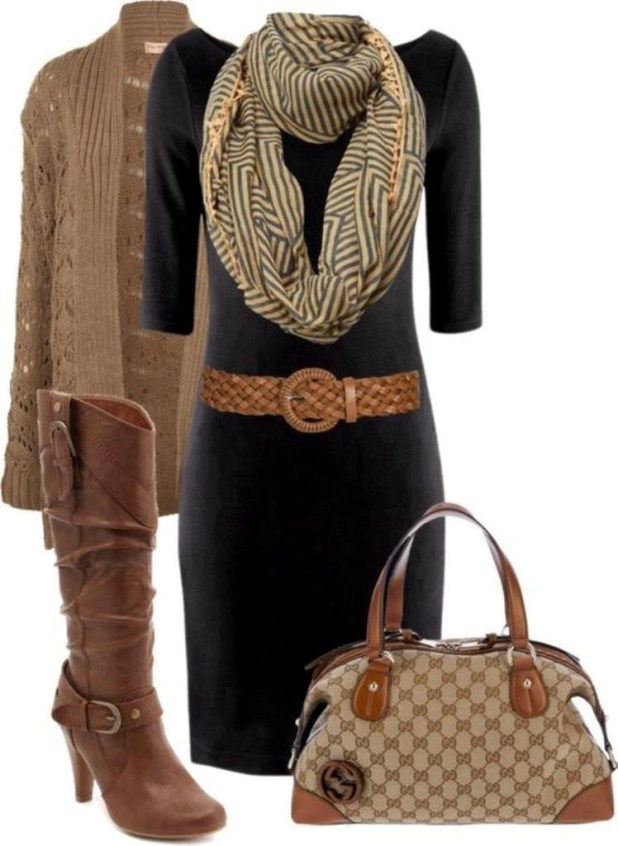 fall-and-winter-outfits-2016-17 79 Elegant Fall & Winter Outfit Ideas 2016