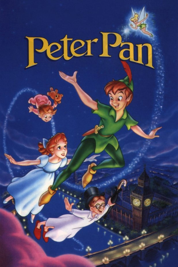 Peter-pan-disney-poster-cartel-6 Children Books That Teach Morals