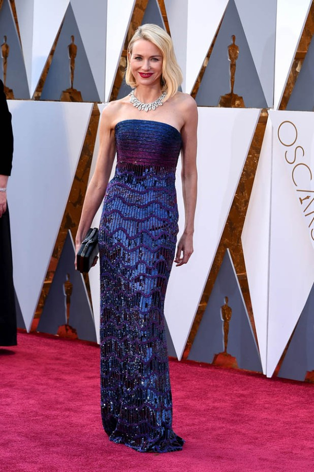 naomi-watts-oscars-29feb16-02 Top Best 5 Red Carpet Looks in The 88th Academy Award