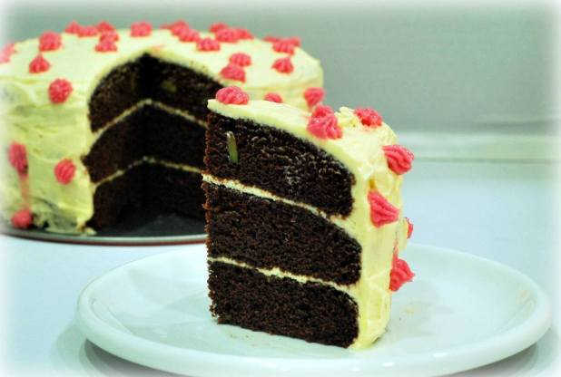 Avocado-Chocolate-Cake-with-Avocado-Butter-cream-5 Unusual Cake Recipe Ideas That You should Try  [Video Tutorials] ...