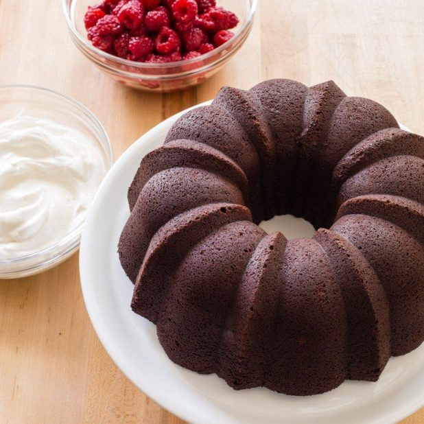Chocolate-Truffle-Sour-Cream-Bundt-Cake-1 Easiest Chocolate Cake Recipe That Will Impress You ...