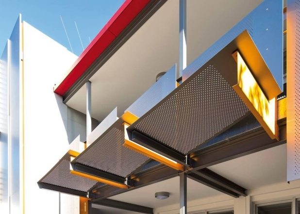 perforated-metal-sheet-ideas-45 63 Awesome Perforated Metal Sheet Ideas to Decorate Your Home