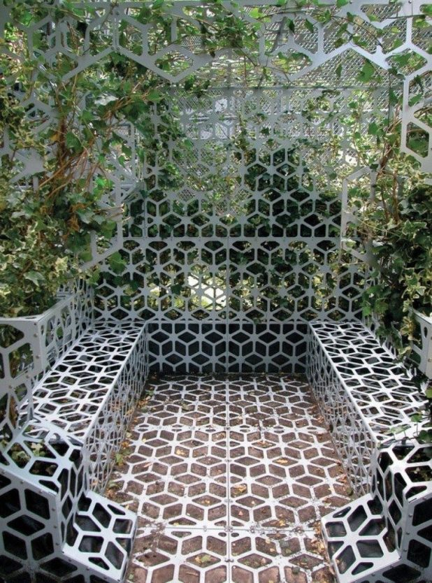 perforated-metal-sheet-ideas-58 63 Awesome Perforated Metal Sheet Ideas to Decorate Your Home