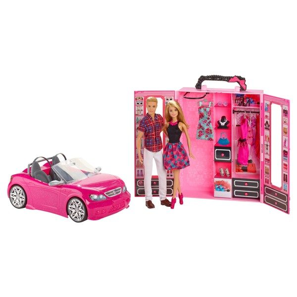 Barbie-Convertible-Car-and-Closet-1 20 Must Have Christmas Toys for Children 2017
