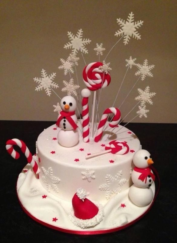 Christmas-Cake-Decoration-Ideas-2017-10 82 Mouthwatering Christmas Cake Decoration Ideas 2017