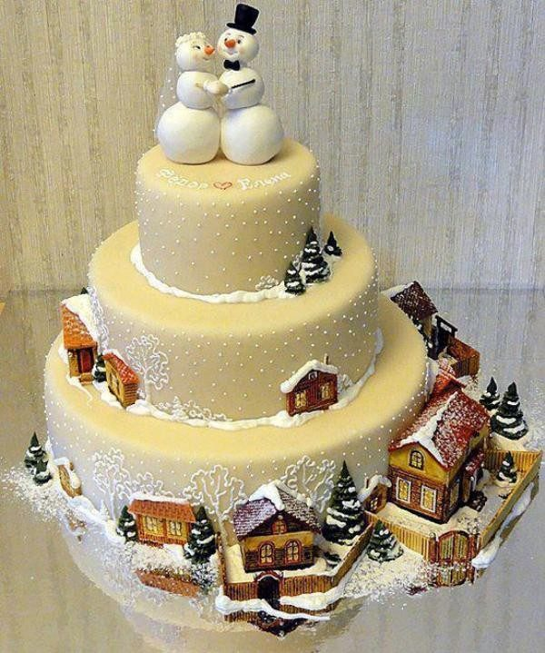 Christmas-Cake-Decoration-Ideas-2017-16 82 Mouthwatering Christmas Cake Decoration Ideas 2017