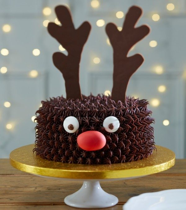 Christmas-Cake-Decoration-Ideas-2017-20 82 Mouthwatering Christmas Cake Decoration Ideas 2017