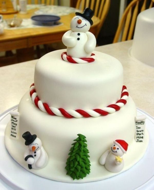 Christmas-Cake-Decoration-Ideas-2017-23 82 Mouthwatering Christmas Cake Decoration Ideas 2017