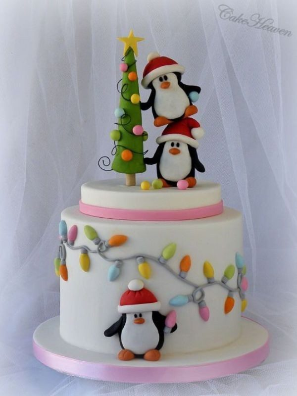 Christmas-Cake-Decoration-Ideas-2017-3 82 Mouthwatering Christmas Cake Decoration Ideas 2017