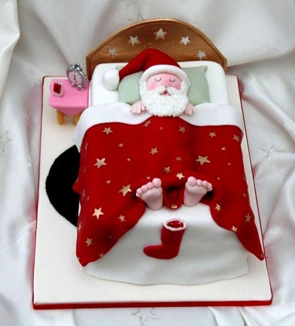 Christmas-Cake-Decoration-Ideas-2017-32 82 Mouthwatering Christmas Cake Decoration Ideas 2017