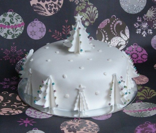 Christmas-Cake-Decoration-Ideas-2017-66 82 Mouthwatering Christmas Cake Decoration Ideas 2017
