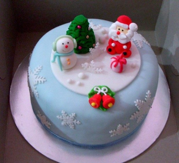 Christmas-Cake-Decoration-Ideas-2017-77 82 Mouthwatering Christmas Cake Decoration Ideas 2017