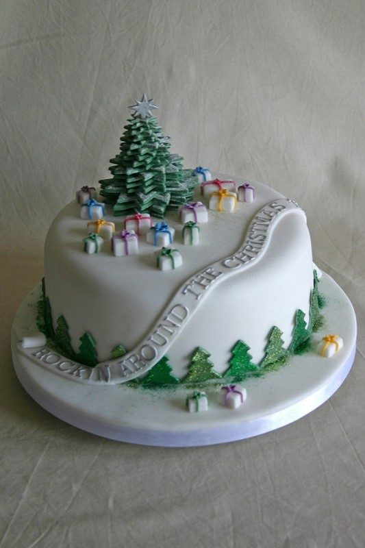 Christmas-Cake-Decoration-Ideas-2017 82 Mouthwatering Christmas Cake Decoration Ideas 2017